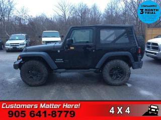 Used 2012 Jeep Wrangler Sport  4WD 2dr SPORT for sale in St. Catharines, ON