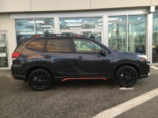 New 2019 Subaru Forester Sport w Eyesight for sale in Vernon, BC