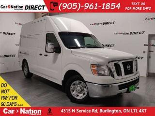 Used 2015 Nissan NV 2500 S V8| LOCAL TRADE| NAVI| BACK UP CAM| for sale in Burlington, ON