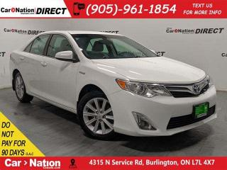 Used 2014 Toyota Camry HYBRID XLE| BACK UP CAMERA| PUSH START| for sale in Burlington, ON