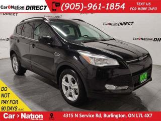 Used 2015 Ford Escape SE| 4X4| NAVI| BACK UP CAMERA & SENSORS| for sale in Burlington, ON
