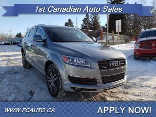 Used 2007 Audi Q7 PREMIUM-V8-7 PASSENGER-NAVI-SUNROOF-APPLY NOW!! for sale in Edmonton, AB