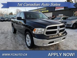 Used 2017 RAM 1500 SLT-CREW CAB-ACCIDENT FREE-LOW Monthly PAYMENTS!! for sale in Edmonton, AB