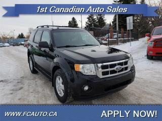 Used 2009 Ford Escape XLT-AWD-ACCIDENT FREE-LOW Monthly PAYMENTS!! for sale in Edmonton, AB