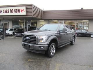 Used 2017 Ford F-150 SUPERCREW SPORT - 3.5L ECOBOOST for sale in Langley, BC