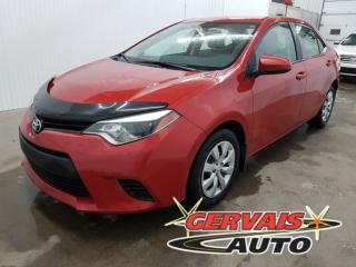 Used 2014 Toyota Corolla Le A/c Bluetooth for sale in Shawinigan, QC