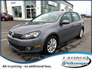 Used 2012 Volkswagen Golf for sale in PORT HOPE, ON