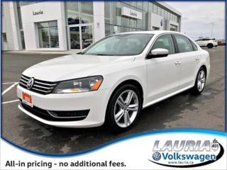 Used 2014 Volkswagen Passat for sale in PORT HOPE, ON