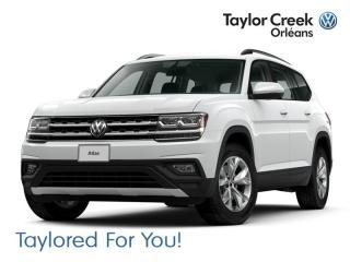 New 2019 Volkswagen Atlas Trendline 3.6L 8sp at w/Tip 4MOTION for sale in Orleans, ON