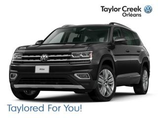 New 2019 Volkswagen Atlas Execline 3.6L 8sp at w/Tip 4MOTION for sale in Orleans, ON
