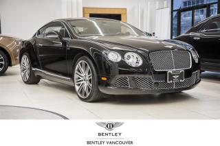 Used 2013 Bentley Continental GT Speed *Fully Serviced & Bentley Certified! for sale in Vancouver, BC