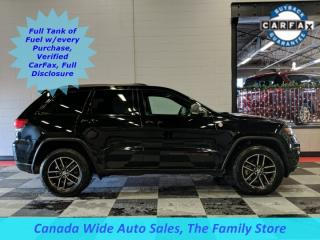 Used 2018 Jeep Grand Cherokee Trailhawk, Air Ride, Remote Start, Heated & Cooled Seats, Navigation, Sunroof, Leather for sale in Edmonton, AB