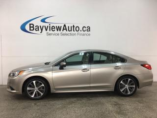 Used 2015 Subaru Legacy 2.5i Limited Package - HTD FRONT & REAR LTHR! BLUETOOTH! SUNROOF! HARMON KARDON SOUND! STARLINK! ALLOYS! for sale in Belleville, ON