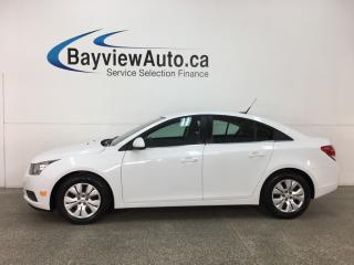 Used 2014 Chevrolet Cruze 1LT - ONSTAR! A/C! CRUISE! PWR GROUP! for sale in Belleville, ON