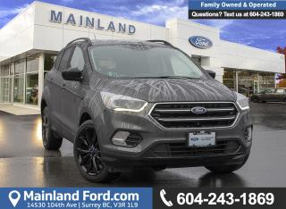 Used 2017 Ford Escape SE *ACCIDENT FREE* * LOCALLY DRIVEN* for sale in Surrey, BC