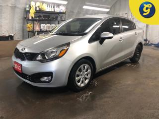 Used 2013 Kia Rio LX+ Eco * Heated front seats * Hands free steering wheel control * Economy mode * Phone connect * Voice recognition * Keyless entry * Climate control for sale in Cambridge, ON