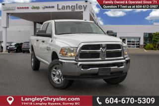 Used 2018 RAM 3500 SLT *BLUETOOTH* * BACKUP CAMERA* for sale in Surrey, BC
