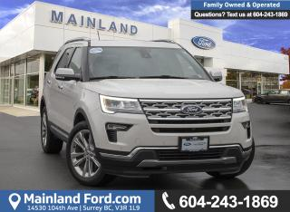 Used 2018 Ford Explorer Limited *ACCIDENT FREE* for sale in Surrey, BC