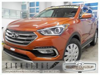 Used 2017 Hyundai Santa Fe Sport Limited,TURBO,TOIT,GPS,CUIR,FOG,AC,CRUIS for sale in Rivière-Du-Loup, QC