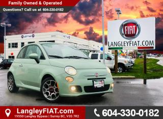 Used 2014 Fiat 500 Sport FUEL EFFICIENT, GREAT COMMUTER VEHICLE! B.C OWNED! for sale in Surrey, BC