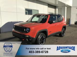 Used 2016 Jeep Renegade Trailhawk 4WD - Navigation for sale in Calgary, AB