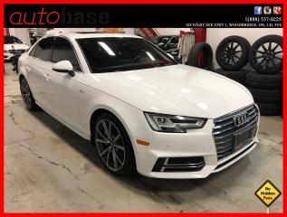 Used 2017 Audi A4 QUATTRO S-LINE SPORT DRIVER ASSIST 6 SPEED ! for sale in Vaughan, ON