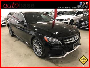 Used 2015 Mercedes-Benz C-Class C400 4MATIC PREMIUM SPORT CLEAN CARFAX for sale in Vaughan, ON