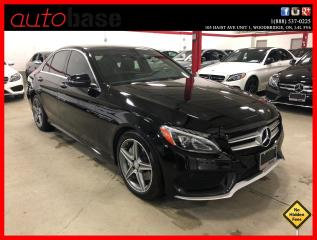 Used 2016 Mercedes-Benz C-Class C300 4MATIC PREMIUM PLUS BURMESTER SPORT for sale in Vaughan, ON
