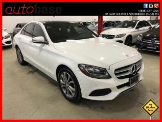 Used 2016 Mercedes-Benz C-Class C300 4MATIC PREMIUM PLUS CLEAN CARFAX for sale in Vaughan, ON