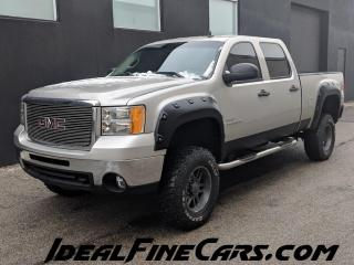 Used 2009 GMC Sierra 2500 HD LEATHER/HEATED SEATS/DIESEL/LIFTED! for sale in Toronto, ON