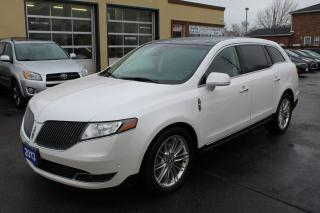Used 2013 Lincoln MKT EcoBoost Pano Roof Rader Cruise Navi Loaded for sale in Brampton, ON