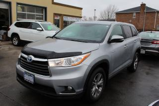Used 2015 Toyota Highlander Hybrid LE for sale in Brampton, ON