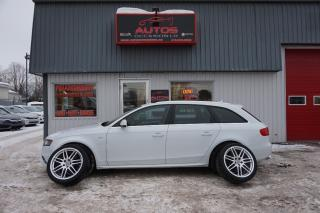 Used 2012 Audi A4 Wagon 2.0t Quattro S for sale in Lévis, QC