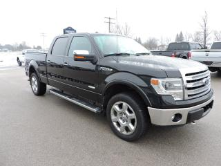 Used 2014 Ford F-150 Lariat. Leather. Sunroof. Navigation. Loaded for sale in Gorrie, ON