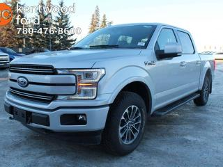 New 2018 Ford F-150 LARIAT 4x4, Sport, 502a, Heated Steering wheel, seats, Twin Panel Moonroof, Text to start remote, tailgate step for sale in Edmonton, AB