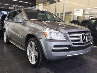 Used 2011 Mercedes-Benz GL-Class GL 550, HEATED SEATS, DVD, NAVIGATION for sale in Edmonton, AB