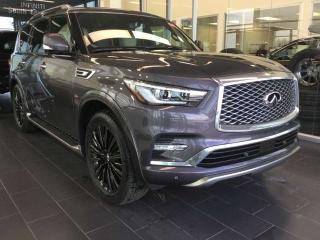 New 2019 Infiniti QX80 7 PASSENGER LIMITED for sale in Edmonton, AB