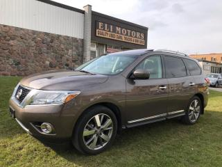 Used 2015 Nissan Pathfinder Platinum | NAVI | TV-DVD | 360 Camera | for sale in North York, ON