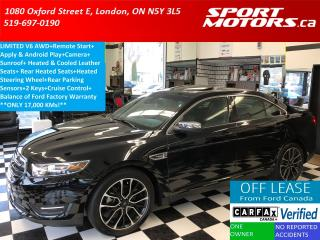 Used 2017 Ford Taurus Limited AWD+Apple Play+Cooled Seats+Remote Start for sale in London, ON