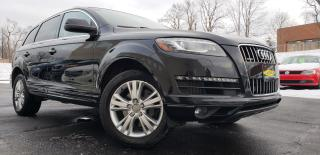 Used 2015 Audi Q7 AWD,TDI,Diesel,7 passenger, Certified for sale in Mississauga, ON