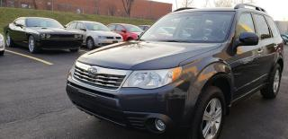 Used 2010 Subaru Forester X,CERTIFIED,2 years Warranty for sale in Mississauga, ON
