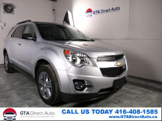 Used 2014 Chevrolet Equinox 2LT AWD V4 Nav Sunroof Leather Camera Certified for sale in Toronto, ON