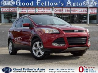 Used 2015 Ford Escape SE MODEL, 1.6 ECOBOOST, 4WD, REARVIEW CAMERA for sale in Toronto, ON