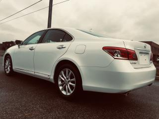 Used 2010 Lexus ES 350 Pearl White Over Black Leather for sale in Mississauga, ON
