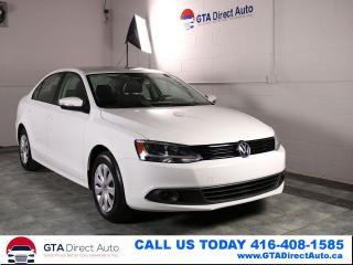 Used 2014 Volkswagen Jetta Trebndline+ TDI 6-Speed Bluetooth Heated Certified for sale in Toronto, ON