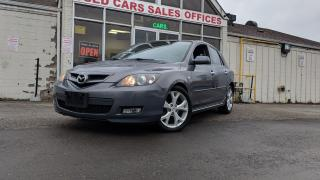 Used 2008 Mazda MAZDA3 GT|NO ACCIDENT|ALLOYS|SUNROOF| for sale in Mississauga, ON