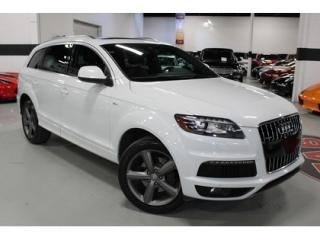 Used 2015 Audi Q7 3.0L TDI Vorsprung Edition S-LINE for sale in Vaughan, ON