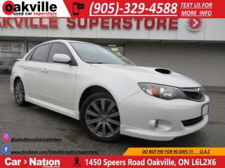 Used 2009 Subaru Impreza WRX | SUNROOF | HEATED SEATS | for sale in Oakville, ON