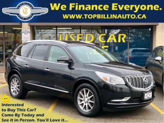 Used 2014 Buick Enclave AWD, Leather, Sunroof, B Cam, Power Tgate for sale in Vaughan, ON