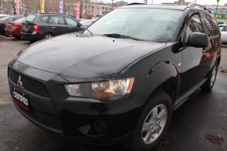 Used 2011 Mitsubishi Outlander ES Leather seats Sunroof for sale in Mississauga, ON